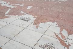 Padrão dos Descobrimentos - Weltkarte von alten Zeiten
