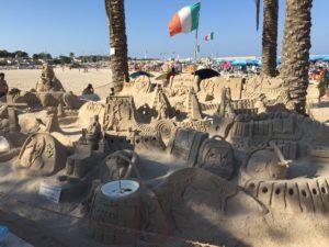 Sandkunst in San Vito Lo Capo