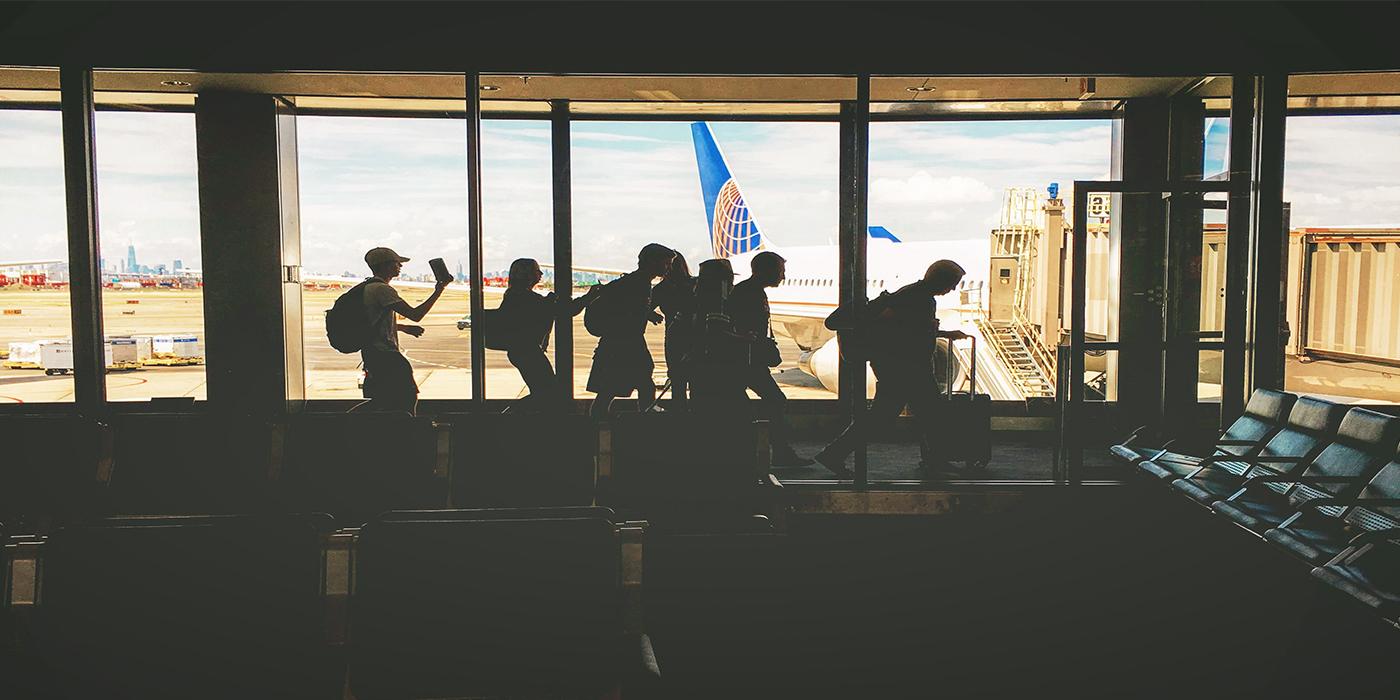 bester Sitzplatz für Gruppen im Flugzeug