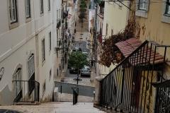 Die engen Gassen von Lissabon