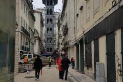 """Personenaufzug Lissabon """"Elevador de Santa Justa"""""""