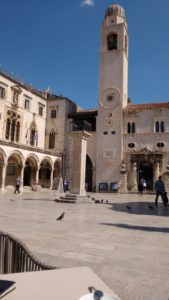 Luza Square in Dubrovnik