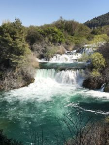 "Der ""Skradinski buk"" Wasserfall in Krka"
