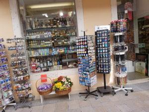 Souvenirladen in der Altstadt von Zadar