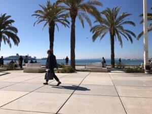 Ausblick von der Promenade von Split