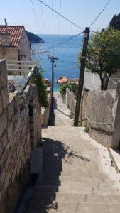 Dubrovnik: Der Weg zum Meer