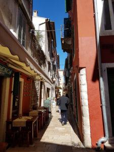 Die engen Gassen von Zadar