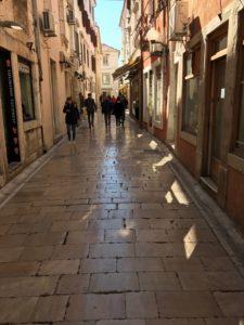 Die Gassen der Altstadt in Zadar