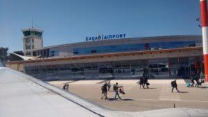 Der Rückflug von Zadar