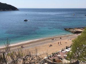 Banje Strand in Dubrovnik