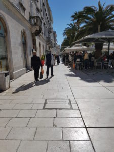 Uferpromenade von Split