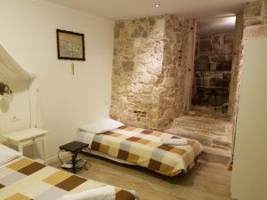 Die Unterkunft in Split