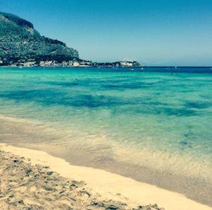 Der Strand von Mondello