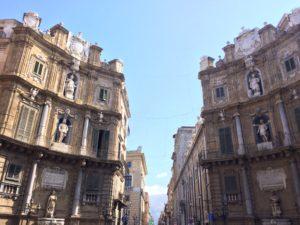 Die vier Säulen von Palermo