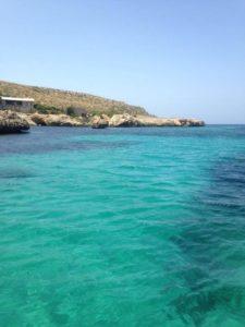 Das kristallklare Wasser von San Vito Lo Capo