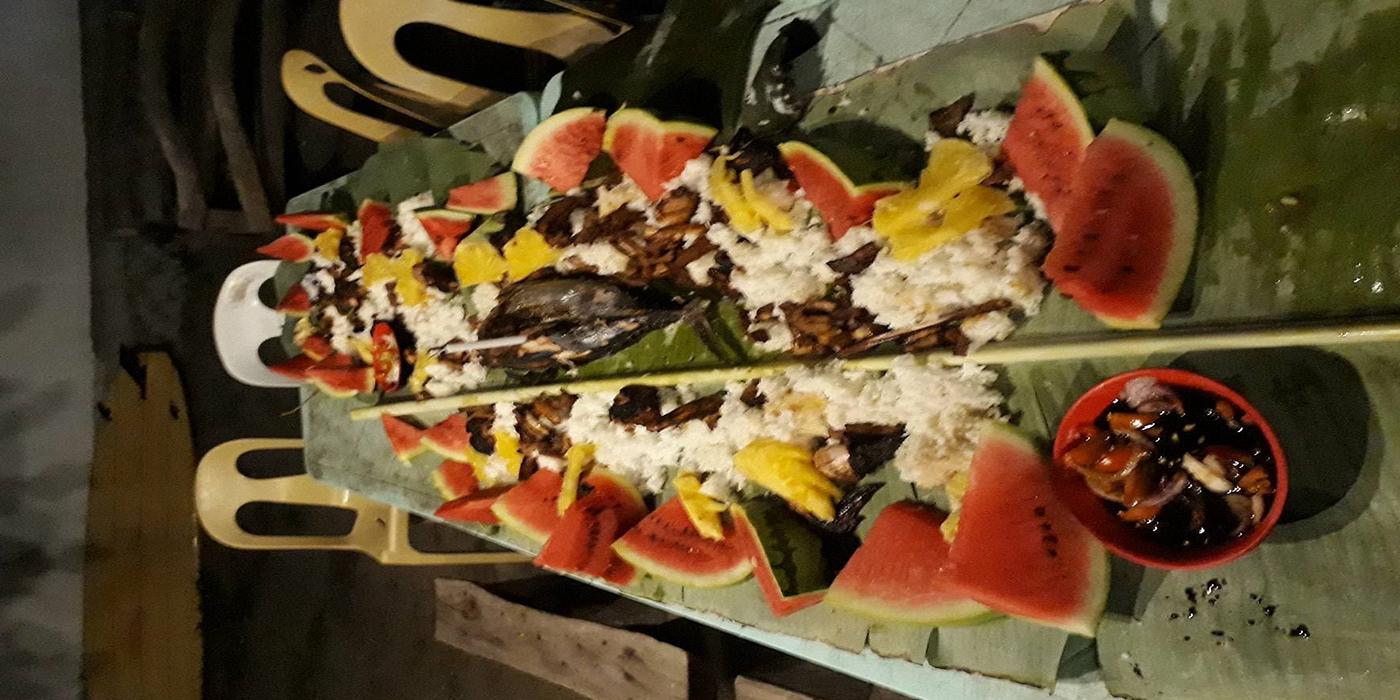 Bananenleafe - ein besonderes Festmahl