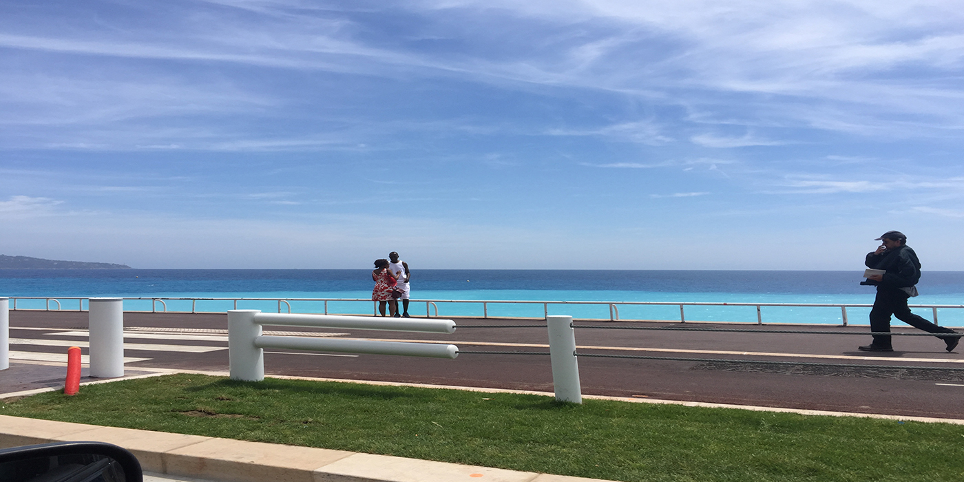 Das Meer an der Cote d`Azur
