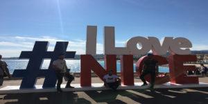 Nizza -Kulturhauptstadt der Cote d`Azur mit Freunden